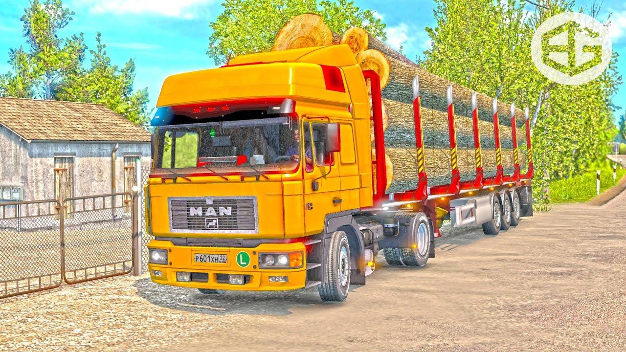 MAN F2000 ETS2 1 35 (Euro Truck Simulator 2)