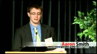 Aaron Smith from the Pew Research Center discusses digital communication pt. 4