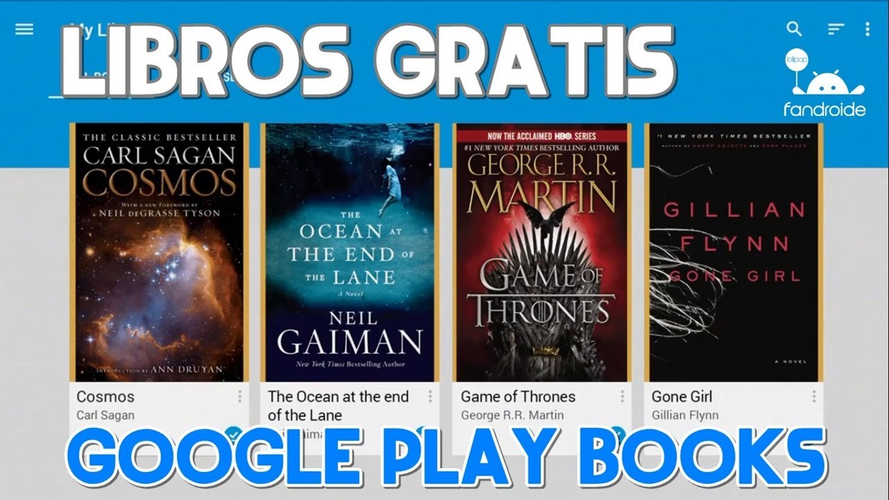 Descargar Libros De Electronica Gratis En Pdf Como Descargar Libros Gratis De Google Play Books - Youtube