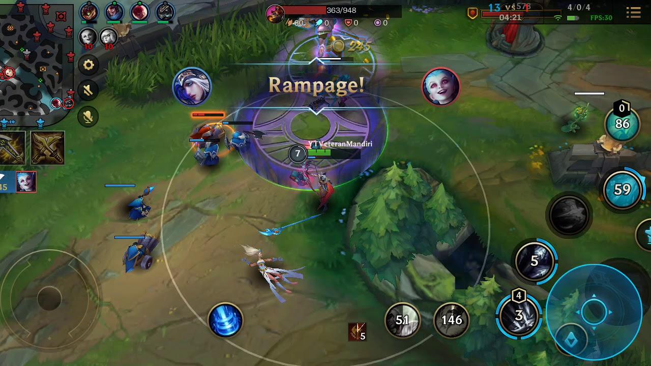 Gameplay Ashe, Make your enemy Surrender LoL Wild Rift Part 1 #VMGaming