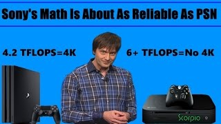 Sony's Mark Cerny Mocks Xbox Scorpio As Being Weak And Says You Need 8 TFLOPS To Do 4K Gaming