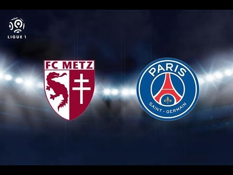 METZ VS PARIS SAINT GERMAIN EN VIVO 2017