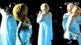 Super Junior 슈퍼주니어 Elsa Cosplay Rokkugo SS6 In HK 081114