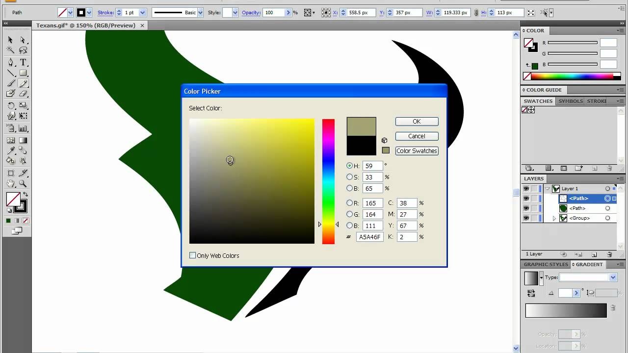 Adobe Illustrator Cs4 Tutorial How To Change A Logo Using Live