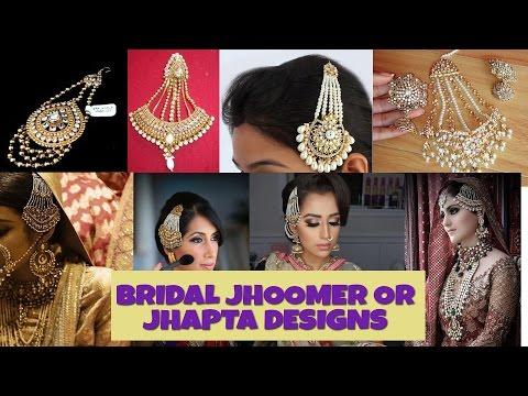 EXCLUSSIVE BRIDAL JHAPTA OR JHOOMER DESIGN
