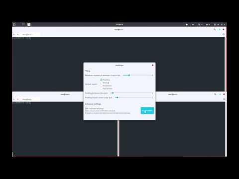 ShellShape Tiling GNOME Shell Extension