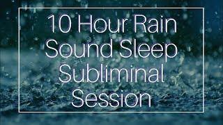Download Video Wake Up Full of Energy - (10 Hour) Rain Sound - Sleep Subliminal - By Thomas Hall MP3 3GP MP4