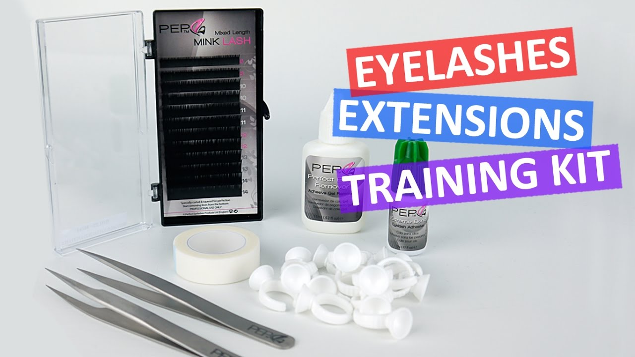 Eyelash Training Kit Bronze B1 Eyelash Extensions Diy