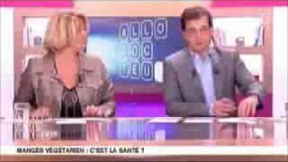 France  5 - Manger végétarien : c'est la santé ?  part 1