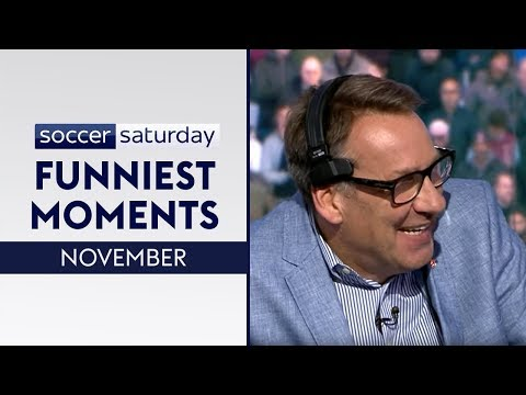 Paul Merson makes hilarious blunders! 😂| Soccer Saturday Funniest Moments | November