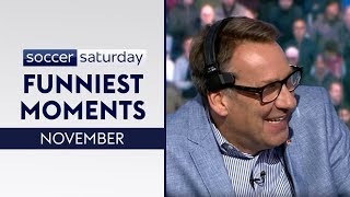 Paul Merson makes hilarious blunders! 😂  Soccer Saturday Funniest Moments   November