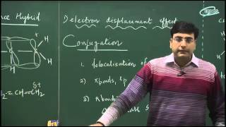 electron displacement effects in organic chemistry class 11