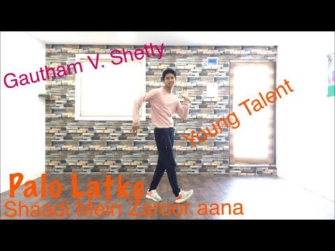 Pallo Latke | Gautham V Shetty Choreography | Jyotica Tangri | Shaadi Mein Zaroor Aana|Rajkummar rao