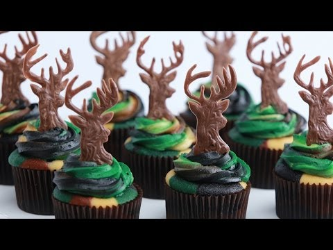 Download CAMOUFLAGE DEER HUNTER CUPCAKES - NERDY NUMMIES Pictures