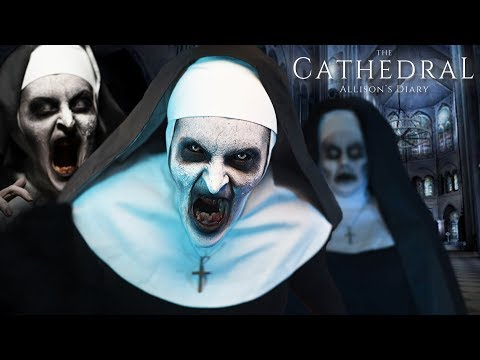 NUNS ARE SOOO CREEPY! | The Cathedral: Alison's Diary VR Gameplay