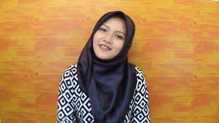 Tutorial Hijab SegiEmpat Satin #1 ( INDONESIA ) - Amalia Kurnia -