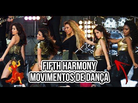 Fifth Harmony Movimentos De Dança | Dance Moves Parte 3 💃💃