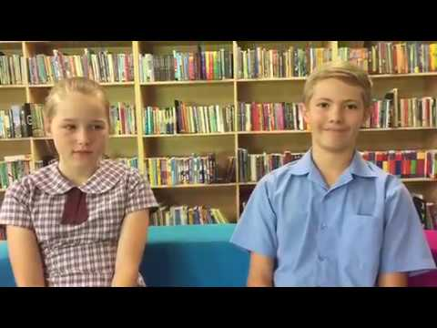 Chloe Thibault and Hugh Henry talk school holidays.