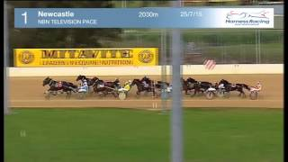 NEWCASTLE - 25/07/2015 - Race 1 - NBN TELEVISION PACE