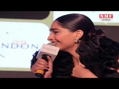 Bollywood की Fashionista Sonam Kapoor एक बार फिर हुई Oops Moment की शिकार