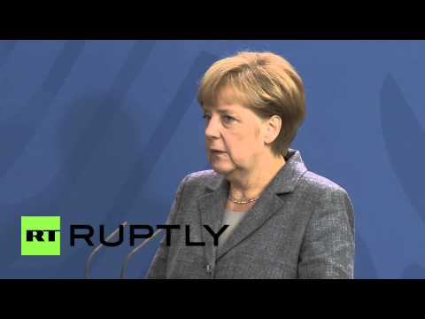 "Germany: Serbia and Kosovo have made ""substantial progress"" in talks - Merkel"