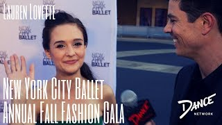 Dance Network | NYC Ballet Annual Fall Fashion Gala | Lauren Lovette