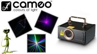 Cameo - Wookie 400 RGB  - Animation Laser