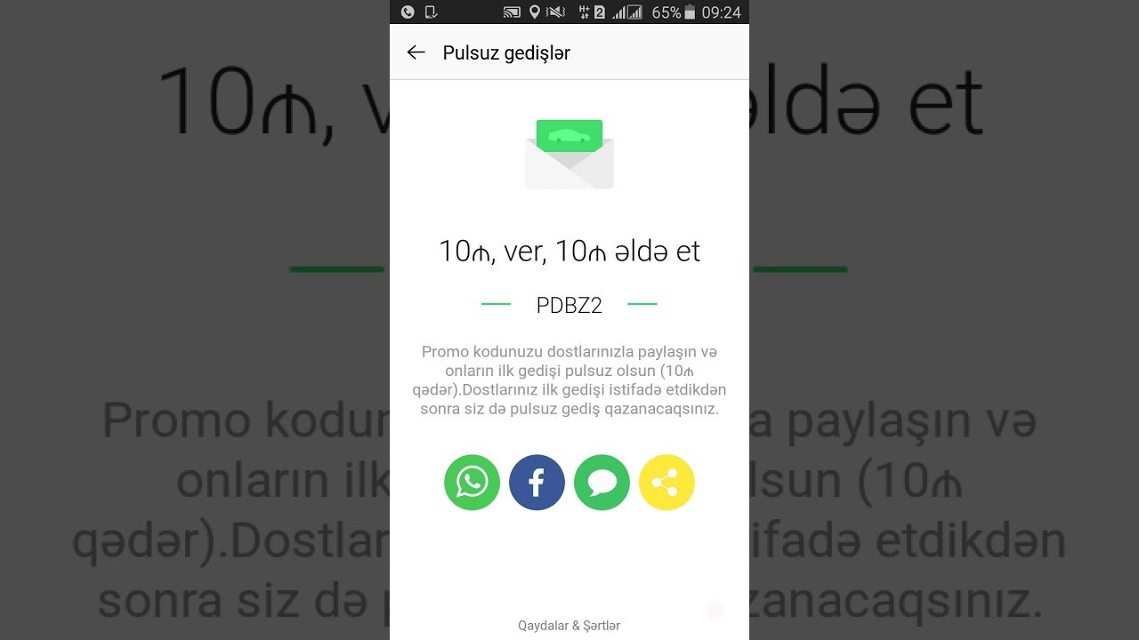 Free ride Taxify Bolt Promo Code 2019 for all city: PDBZ2 / pulsuz gedis   10 AZN Promo kod PDBZ2