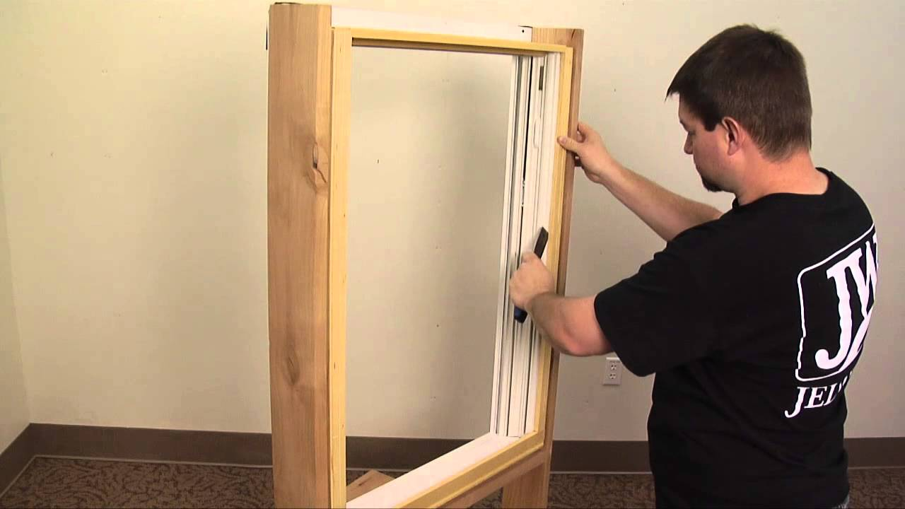 How To Replace A Wood Window Jamb Liner Youtube
