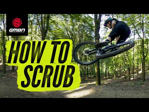 How To Scrub On A Mountain Bike | GMBN's Jumping Skills