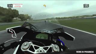 SBK 2011 - Gameplay Footage Assen in Rain (HD 720p)
