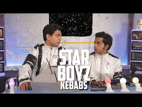 3 South Indian Boys in Space | STAR BOYZ | KEBABS Ep 2 #LaughterGames
