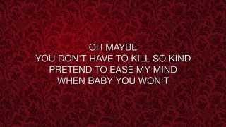 Keira Knightley - Tell Me If You Wanna Go Home (lyrics)