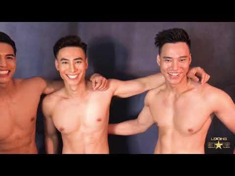 """Soi hình thể """" Sexy """"  của 3 Nam Vương Ngôi Sao Danh Vọng trong buổi photoshoot đầu tiên"""