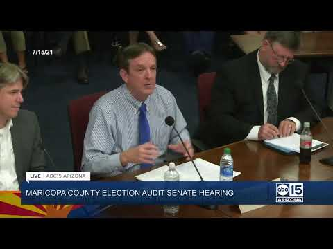 NOW: Senate Hearing on Maricopa County Election Audit
