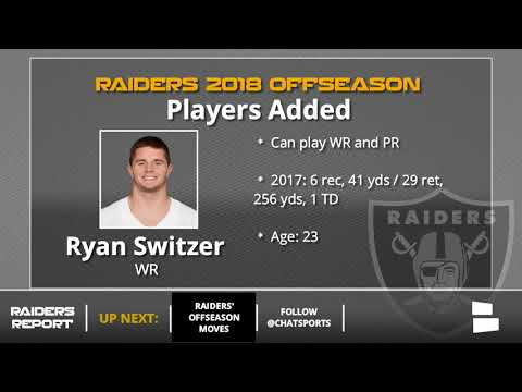 Oakland Raiders 2018 Offseason Update: All The Raiders Signings, Cuts And Draft Picks