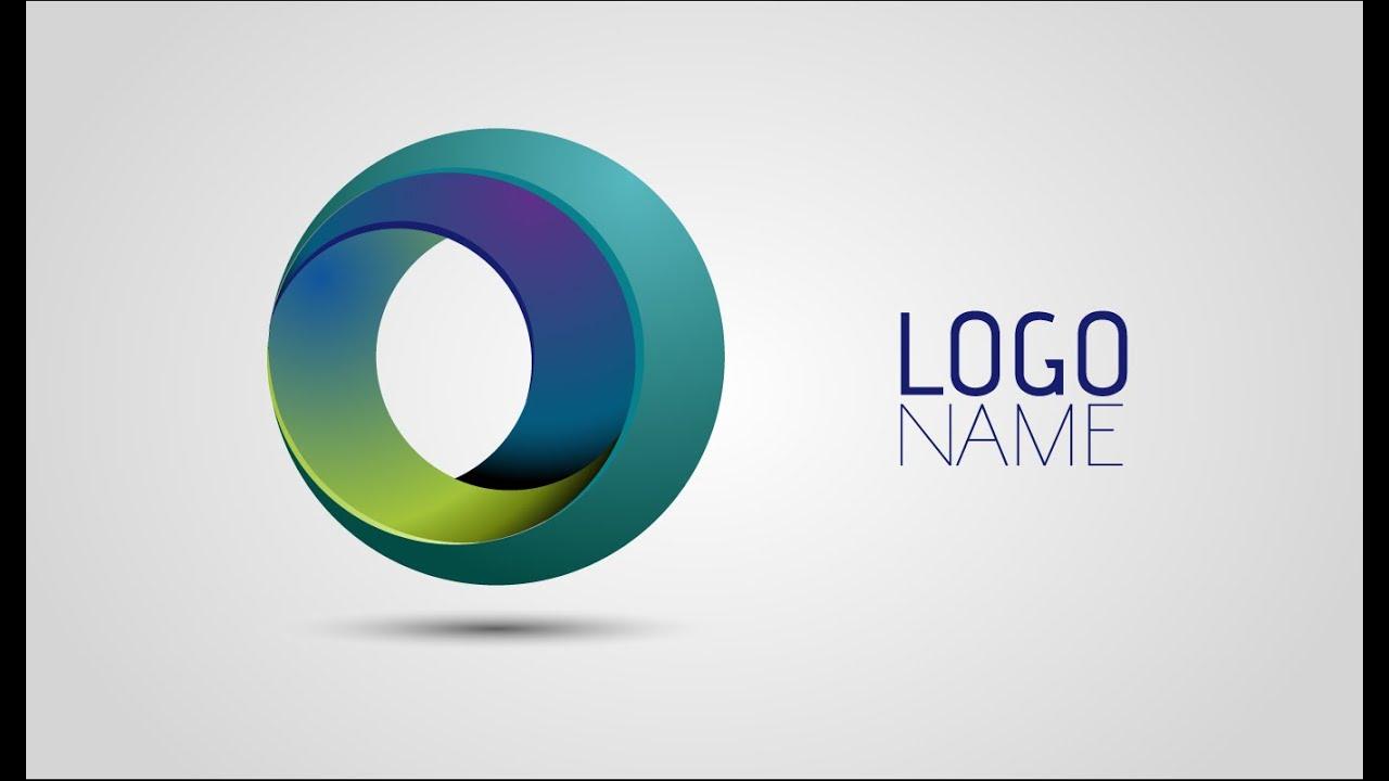 Adobe Illustrator Tutorials   How To Create Full 3D Logo ...