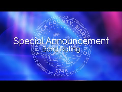 Special Announcement: Bond Rating (Feb. 8, 2018)