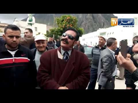"""بجاية: شاهد """"الموسطاش"""" زهير معوني مرشح لرئاسيات 18 أفريل الماضي يلقي كلمة !!"""