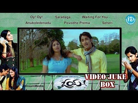 Oye Movie Songs    Video Juke Box     Siddharth - Shamili    Yuvan Shankar Raja Songs