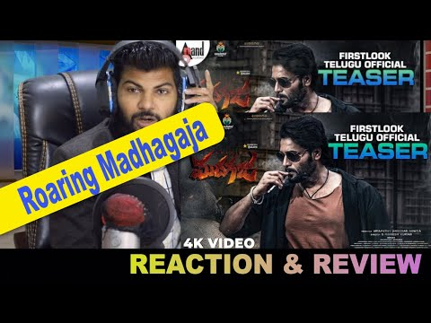 Madhagaja Teaser Reaction | Roaring Madhagaja (Telugu) | Sriimurali | Umapathy S Gowda | PaltuCrazy