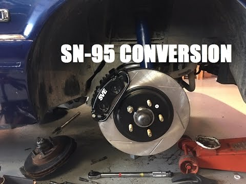 Fox body 5 lug conversion ranger axles