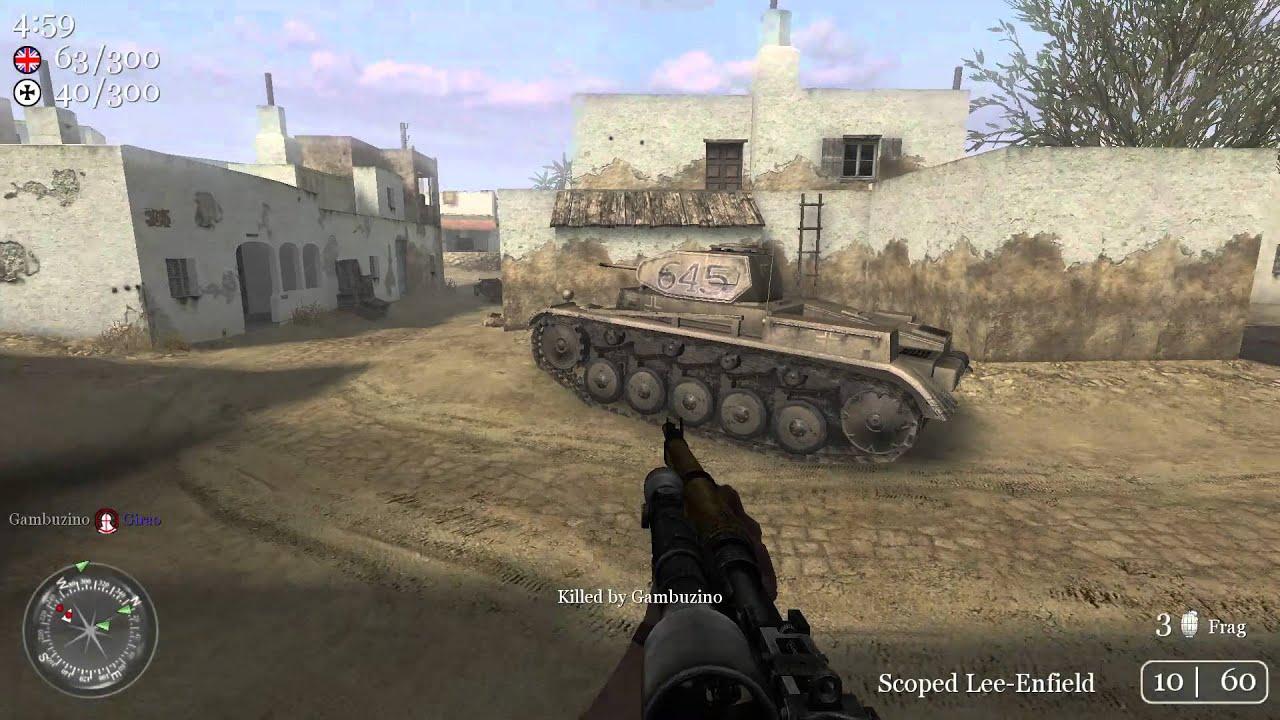 toujane  tunisia  call of duty 2 multiplaye