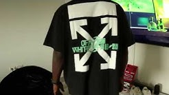 OFF-WHITE F/W 19 WATERFALL TEE  - SIZING GUIDE