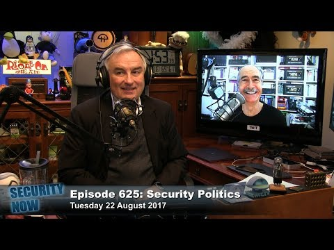 Security Now 625: Security Politics