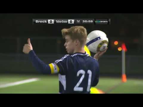 Totino-Grace vs. Breck Section Boys High School Soccer
