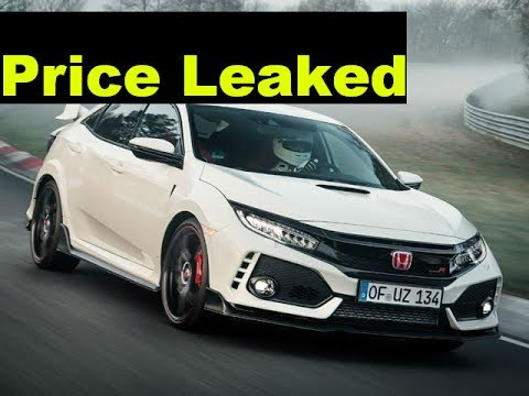 2017 HONDA CIVIC TYPE R OFFICIAL PRICE LEAKED MSRP
