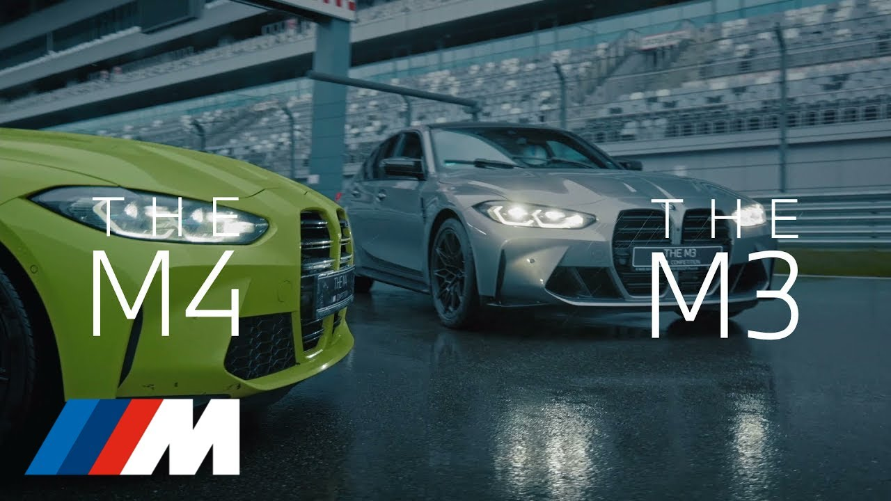 Новые BMW M3 и BMW M4. Драйв, который не сравнится ни с чем.