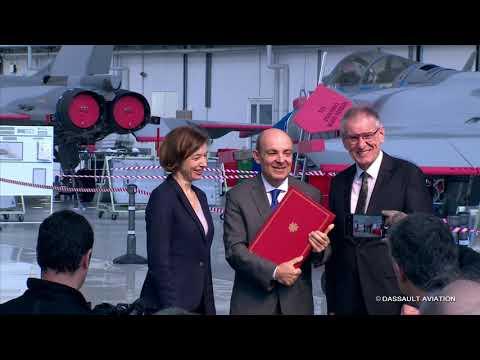 Visite de la ministre des Armées - Salon du Bourget 2019 - Dassault Aviation