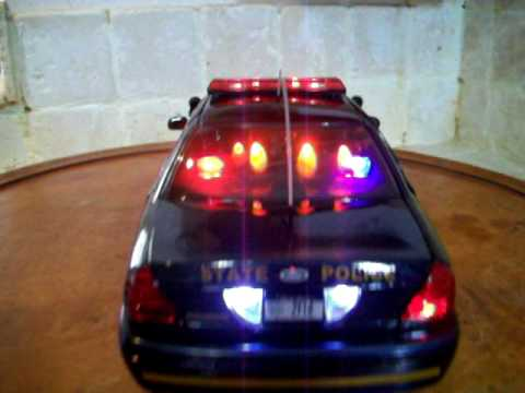 1 18 Nysp New York Police Diecast Toy Car With Lights And